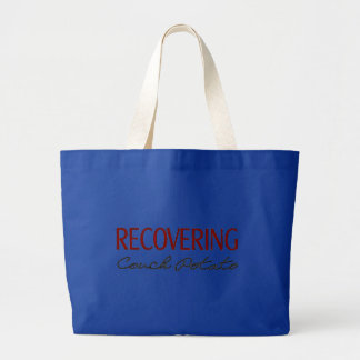 Recovering Couch Potato - Funny Gym Tote Bags