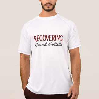 Recovering Couch Potato - Funny Workout Shirt