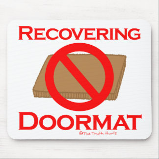 Recovering Doormat Mouse Pad