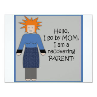Recovering Mom Blue Card