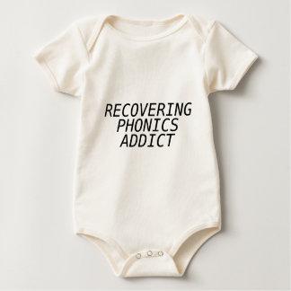 Recovering Phonic Addict Baby Bodysuit