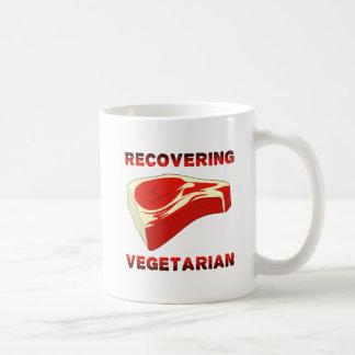 Recovering Vegetarian Funny Mug