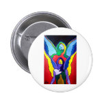 Recovery Angel by Piliero Pinback Button
