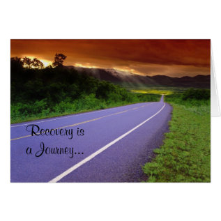 Recovery Anniversary Card at Zazzle