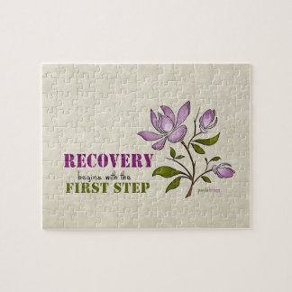 Recovery begins with the First Step Jigsaw Puzzle