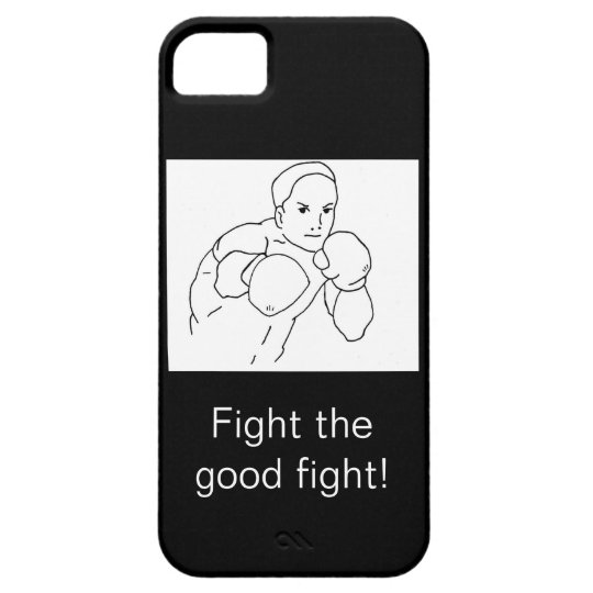 Recovery Boxer iPhone SE/5/5s Case