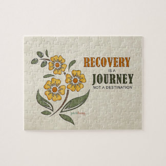 Recovery is a Journey, not a destination Jigsaw Puzzle