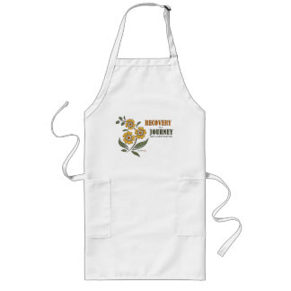 Recovery is a Journey, not a destination Long Apron