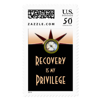 Recovery is my privilege postage