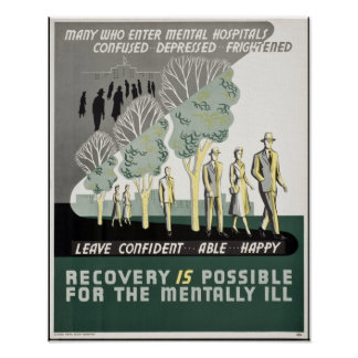 Recovery is Possible for the Mentally Ill Poster