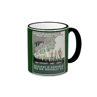Recovery is Possible for the Mentally Ill Ringer Mug