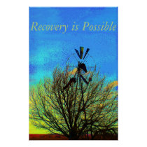 Recovery is Possible Motivational Poster