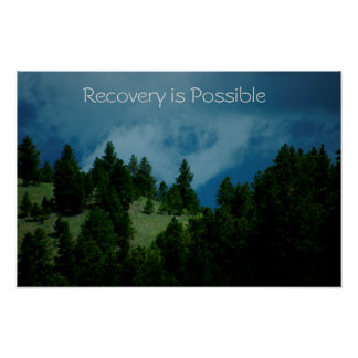 Recovery is Possible poster/Motivational V Poster