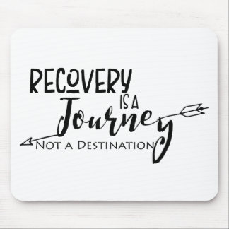 Recovery Journey Arrow Mouse Pad