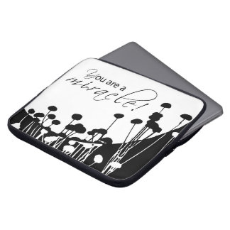 Recovery Miracle, Black and White Computer Sleeve