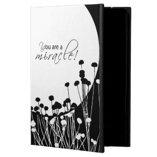 Recovery Miracle, Black and White iPad Air Cover