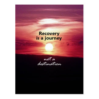 Recovery Postcard