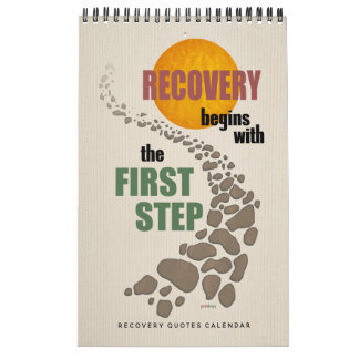 Recovery Quotes, Inspirational Slogans, 12 Steps Calendar