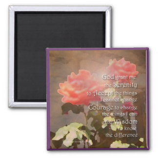 Recovery Roses Magnet