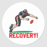 Recovery Round Stickers