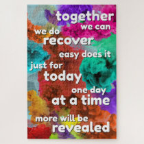 Recovery Slogan Puzzle