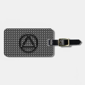 Recovery Sobriety Sober AA Bag Tag