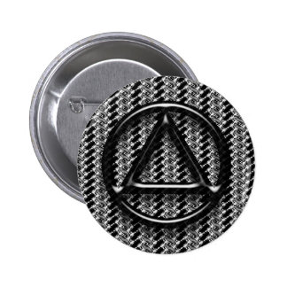 Recovery Sobriety Sober Button Pin