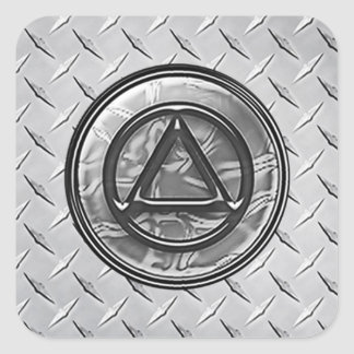 Recovery Sobriety Sober Circle Triangle Sticker