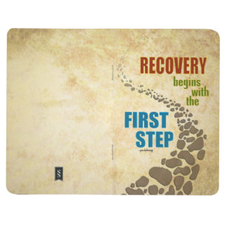 Recovery, the First Step (12 step, drug free) Journal