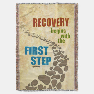 Recovery, the First Step (12 step, drug free) Throw