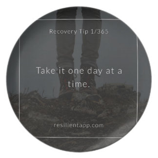 Recovery Tip #1 Melamine Plate