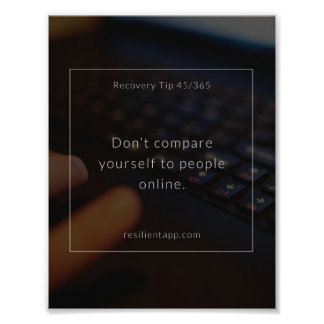 Recovery Tip #45 Poster