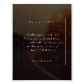 Recovery Tip #67 Poster