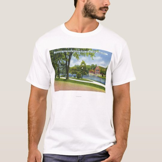 Recreation Bldg & Boathouse T-Shirt