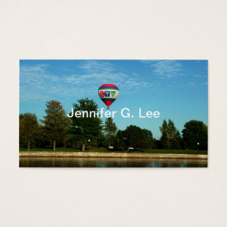 Recreation business cards, riverside business card