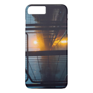 Recreation Themed, Metal Doors Open To Sports Cour iPhone 8 Plus/7 Plus Case