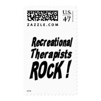 Recreational Therapists Rock ! Postage