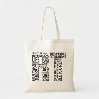 Recreational Therapy RT Tote Bag