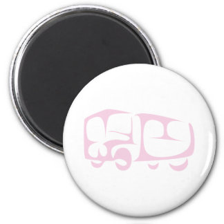 Recreational Vehicle in Swish Drawing Style Magnet