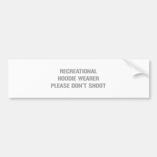Recrecational-Hoodie-Wearer-gun-gray.png Etiqueta De Parachoque