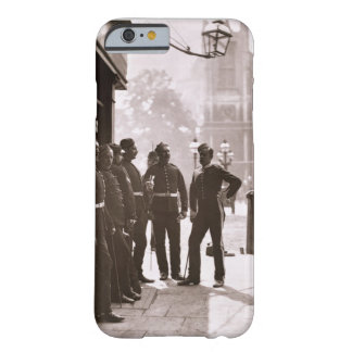 Recruiting Sergeants at Westminster, 1876-77 (wood Barely There iPhone 6 Case
