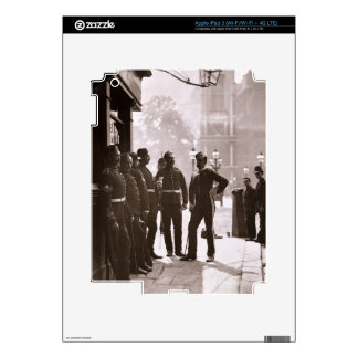 Recruiting Sergeants at Westminster, 1876-77 (wood Decals For iPad 3