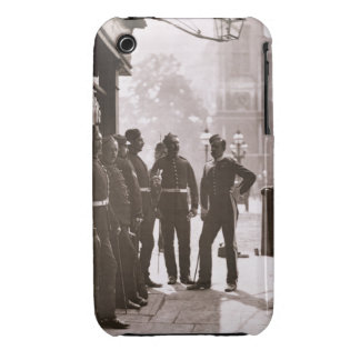 Recruiting Sergeants at Westminster, 1876-77 (wood iPhone 3 Cases