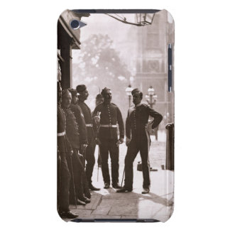 Recruiting Sergeants at Westminster, 1876-77 (wood iPod Touch Case-Mate Case