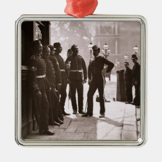 Recruiting Sergeants at Westminster, 1876-77 (wood Metal Ornament
