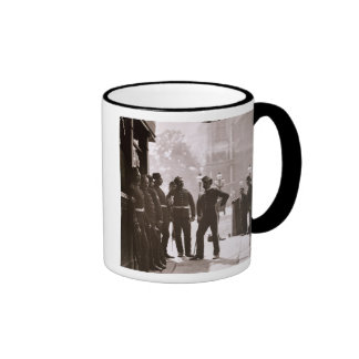 Recruiting Sergeants at Westminster, 1876-77 (wood Ringer Mug