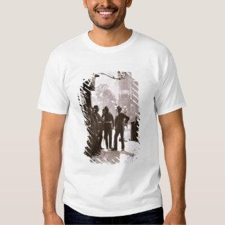 Recruiting Sergeants at Westminster, 1876-77 (wood T-Shirt