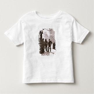 Recruiting Sergeants at Westminster, 1876-77 (wood Toddler T-shirt