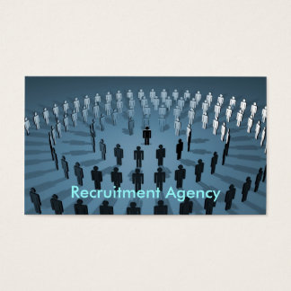 Recruitment Agency Business Card