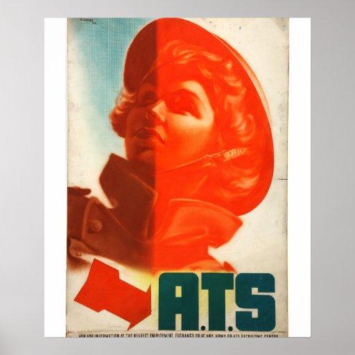 Recruitment ATS (girl's_Propaganda Poster